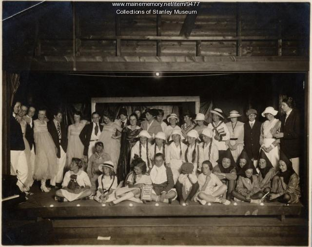 Summer masquerade, Squirrel Island, ca. 1920