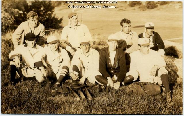 Squirrel Island Baseball Team, ca. 1906