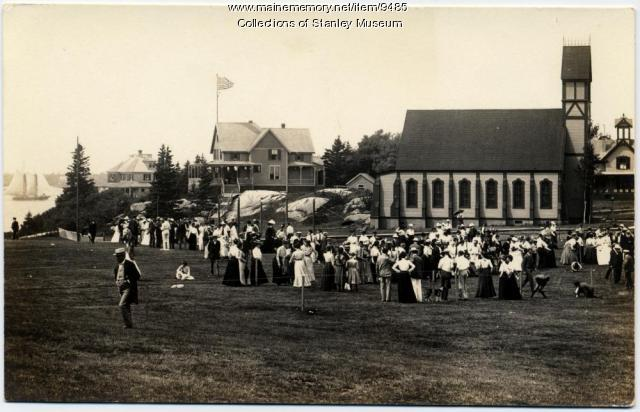 Squirrel Island Gathering, ca. 1905