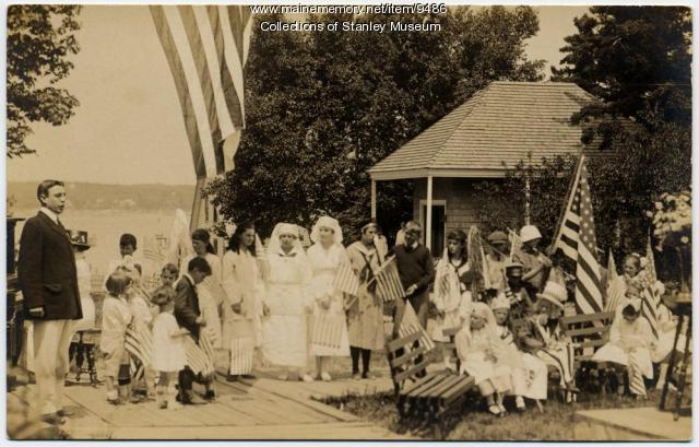 Fourth of July on Squirrel Island, 1918