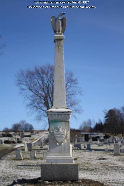 Civil War Monument, Presque Isle, 2013