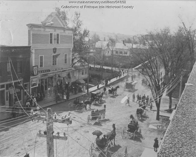 GAR Procession, Memorial Day, 1900