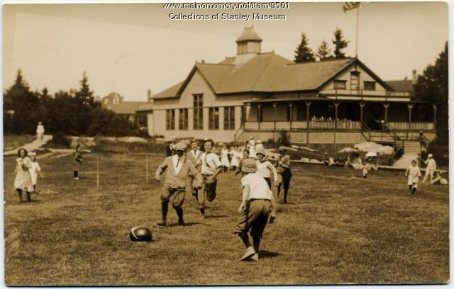 Watermelon race, Squirrel Island, ca. 1907