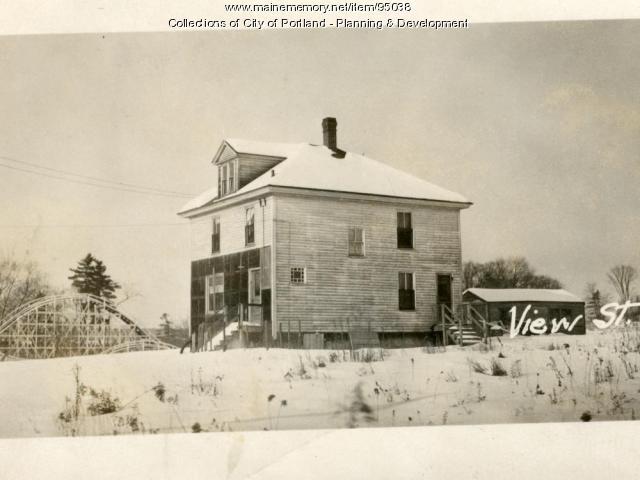 Dwelling, View Street, Portland, 1924