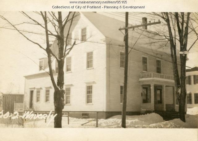 20-24 Waverly Street, Portland, 1924