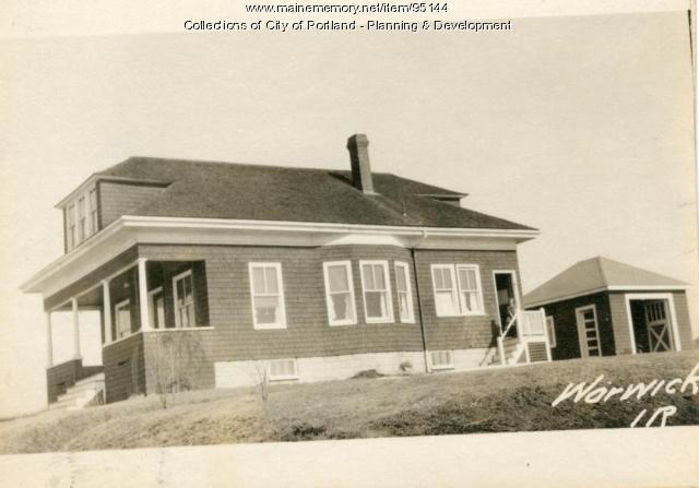 13-27 Warwick Street, Portland, 1924