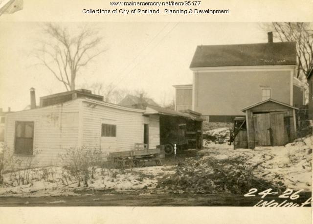26 Walnut Street, Portland, 1924
