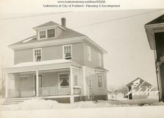 81 Walton Street, Portland, 1924