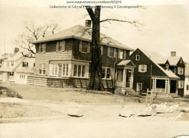 Dwelling, Woodmont Street, Portland, 1924