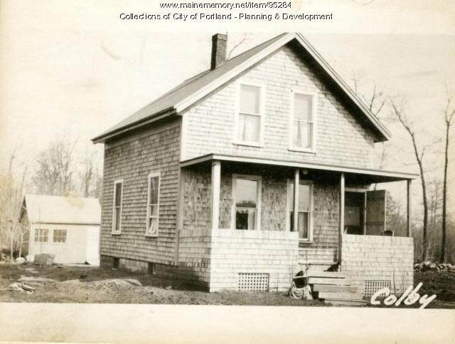 132-138 Woodlawn Avenue, Portland, 1924