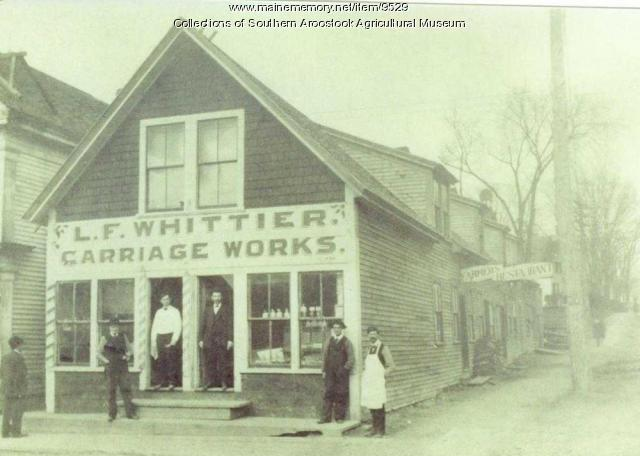 L.F. Whittier Carriage Works, Houlton