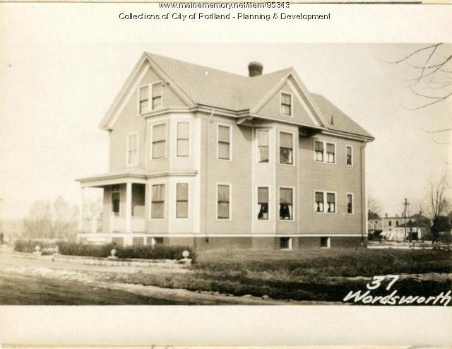 31 Wordsworth Street Lot 40, Portland, 1924