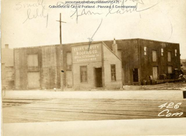 422-426 Commercial Street (leased land), Portland, 1924