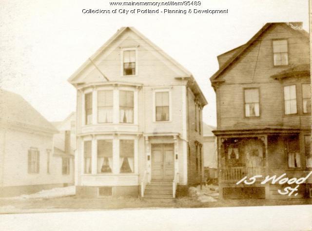 15-17 Wood Street, Portland, 1924