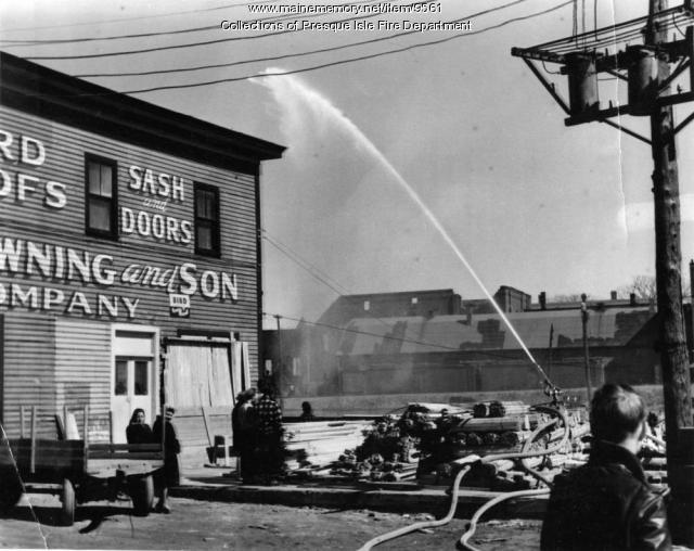 Master stream training, Presque Isle, ca. 1950