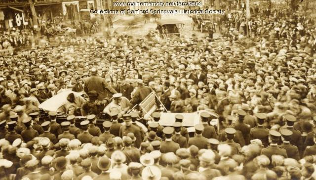 President Taft Campaigning in Sanford, 1912