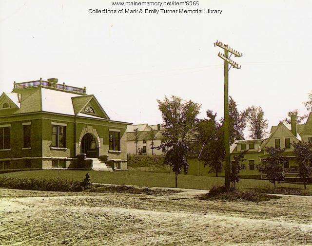 Mark and Emily Turner Memorial Library, Presque Isle, 1908