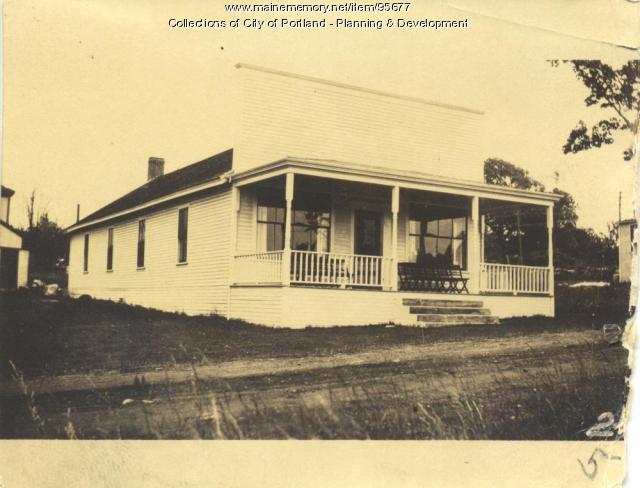 Lorette property, N. Side Welch Avenue, Peaks Island, Portland, 1924
