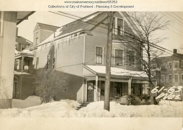 61-67 Washburn Avenue, Portland, 1924