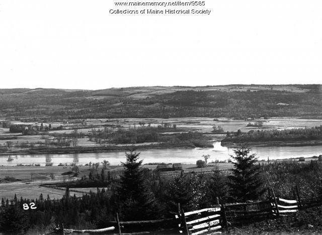 St. John River at Van Buren, ca. 1900
