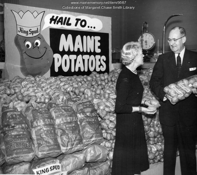 Margaret Chase Smith and King Spud