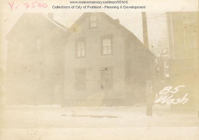 85 Washington Avenue, Portland, 1924