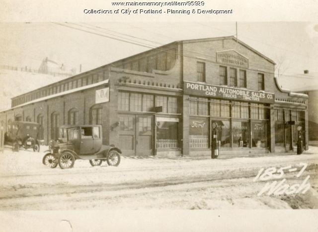183-189 Washington Avenue, Portland, 1924