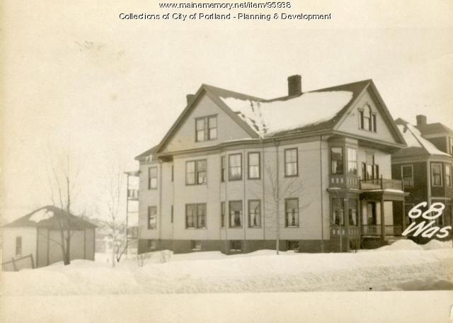 64-70 Washburn Avenue, Portland, 1924