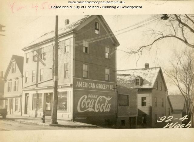 92-94 Washington Avenue, Portland, 1924