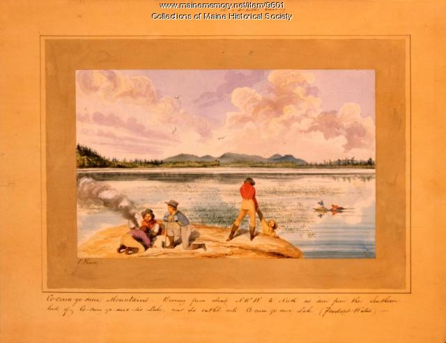 Cocumgomuc Mountains, Talcott Survey, 1841