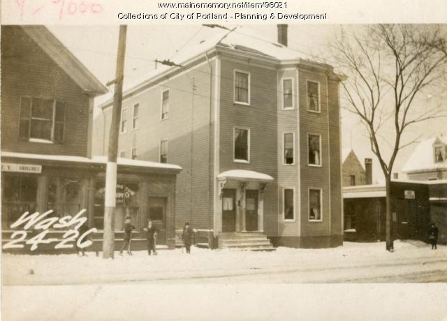 24 Washington Avenue, Portland, 1924