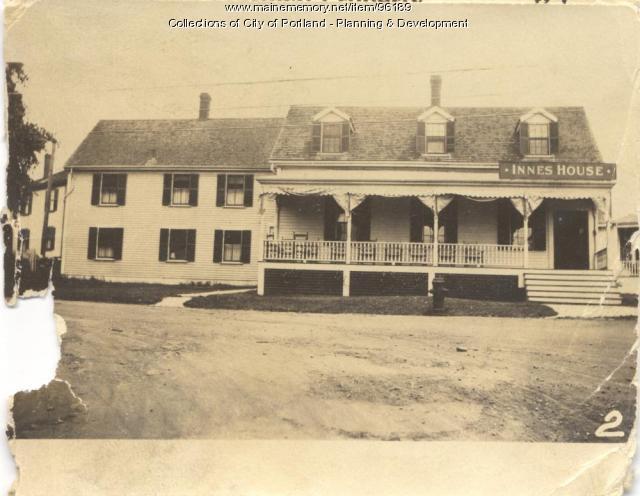 Lorette and Innes House property, E. Side Island Avenue, Lot 65, Peaks Island, Portland, 1924