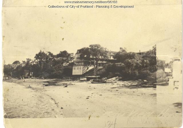 Howard property, W. Side Island Avenue, Lot 28, Peaks Island, Portland, 1924