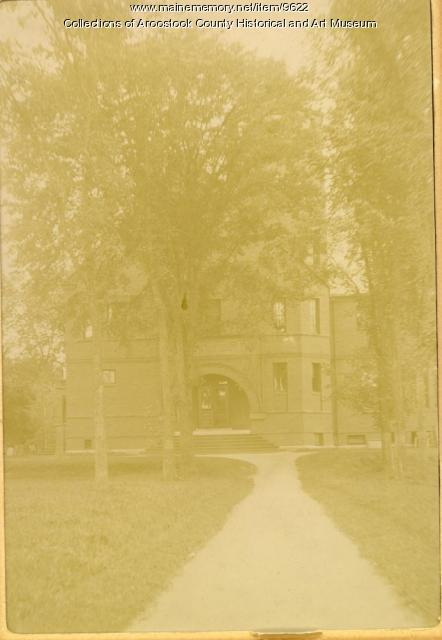 Wording Hall, Ricker Classical Institute, Houlton, ca. 1900