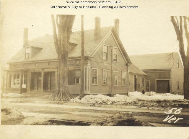 54 Veranda Street Portland 1924 Maine Memory Network