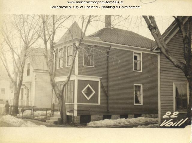 22 Vaill Street, Portland, 1924