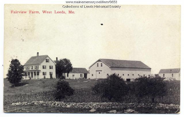Fairview Farm, Leeds, ca. 1921