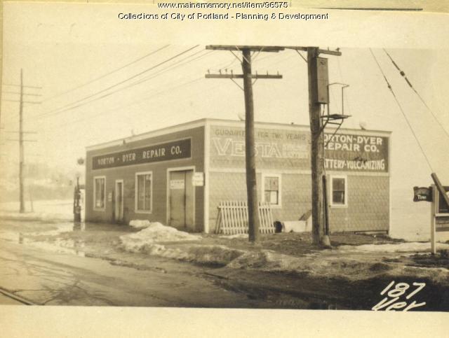 187 191 Veranda Street Portland 1924 Maine Memory Network