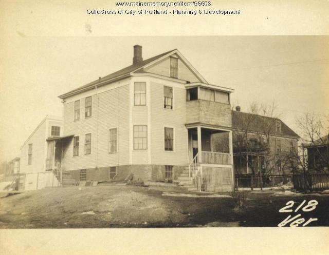218 Veranda Street, Portland, 1924
