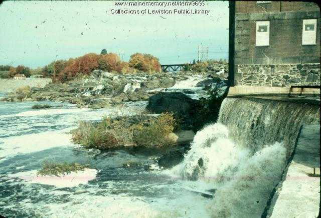 Libbey Mill, Lewiston, ca. 1975