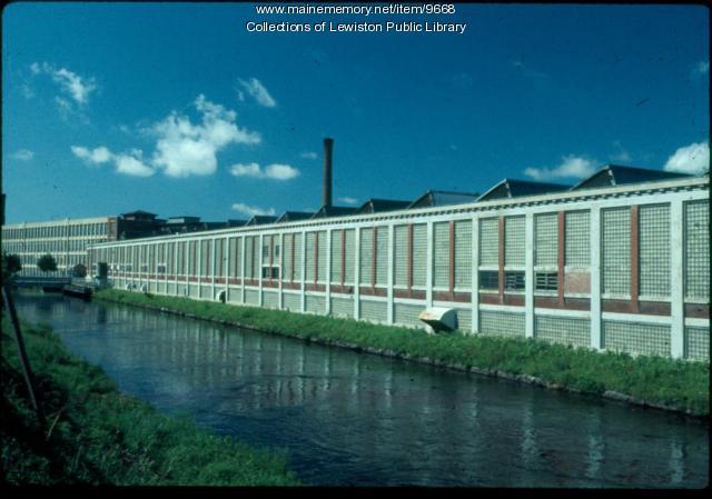 Bates Mill #5, Lewiston, ca. 1980