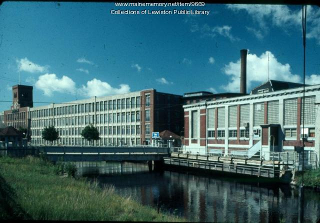 Bates Mill #4 and #5, Lewiston, ca. 1980