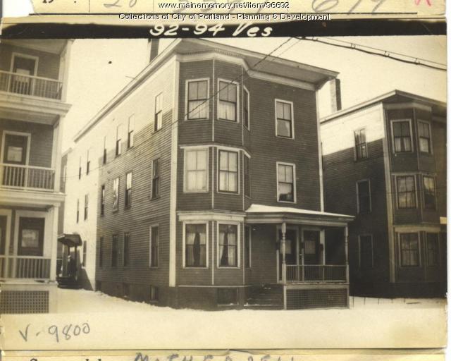92-94 Vesper Street, Portland, 1924