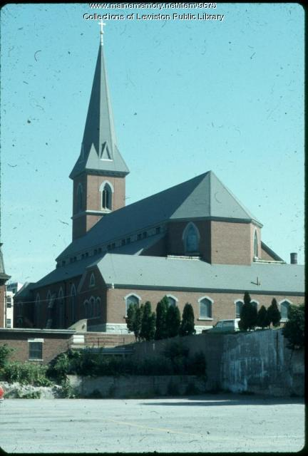 St. Joseph's Catholic Church, Lewiston, ca. 1980