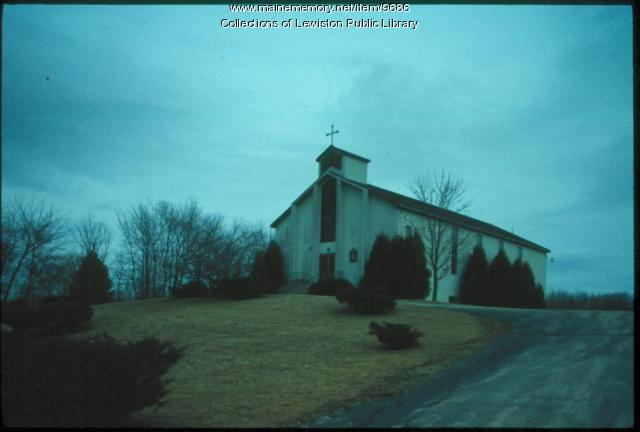 Greek Orthodox Church of the Holy Trinity, Lewiston, ca. 1980