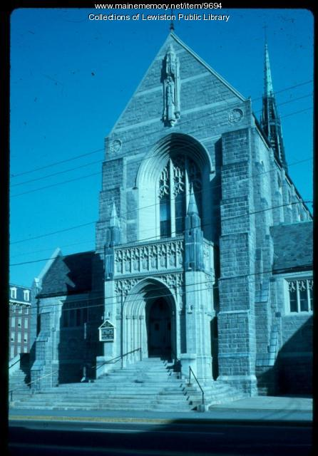 St. Mary's Parish, Lewiston, ca. 1975