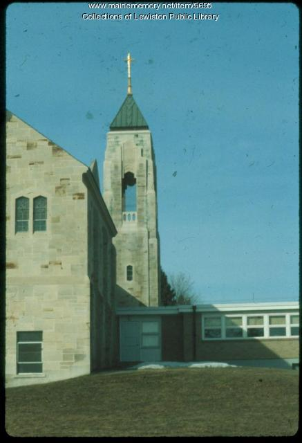 Holy Family Church, Lewiston, ca. 1980