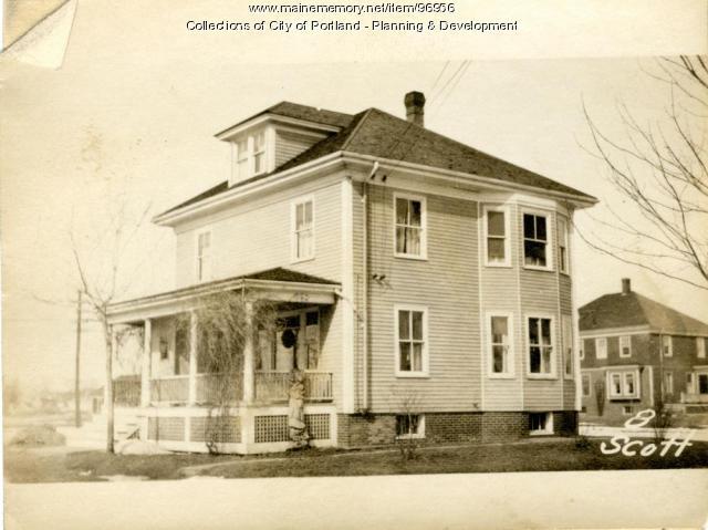 3 Scott Street (also 1-17), Portland, 1924