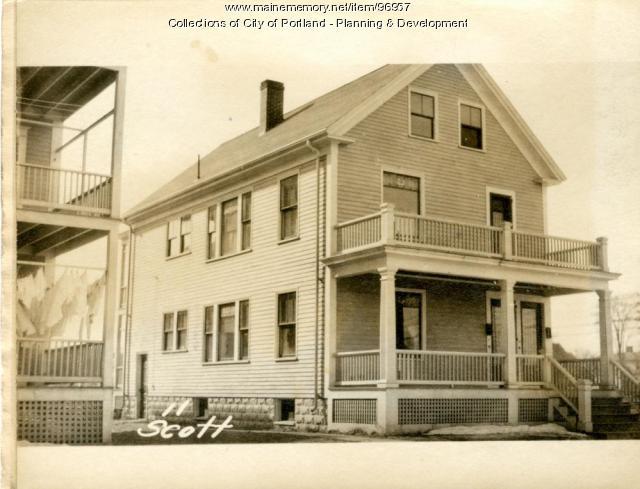 8-10 Scott Street, Portland, 1924