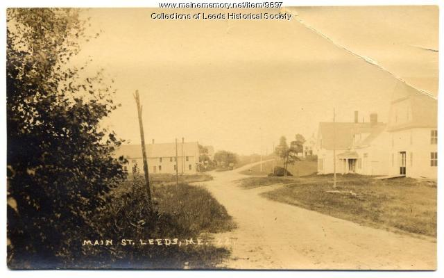 Main Street, Leeds, ca. 1910